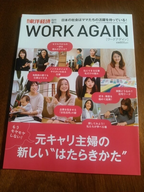 WORK AGAIN